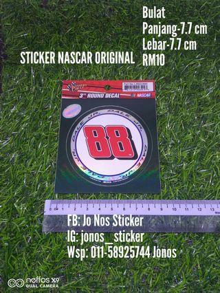 Sticker nascar 88 original
