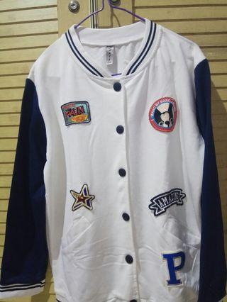 Jaket Baseball Navy