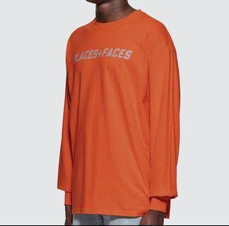 WTS PLACES FACES 3M REFLECTIVE ORANGE L