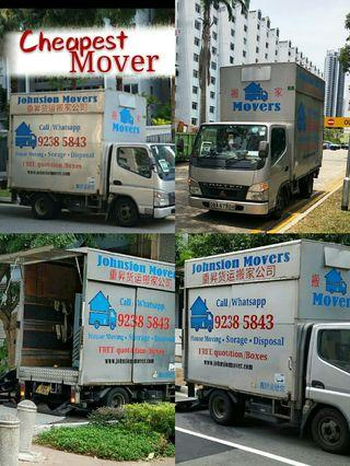 Lorry mover service call 92385843 JohnsionMover