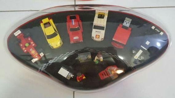 LEGO SHELL ( COMPLETE SET WITH CASE )