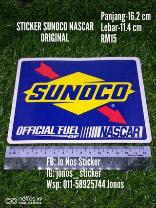 Sticker sunoco original