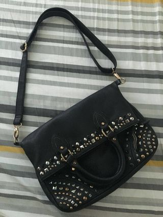 189986df631 Authentic Aldo two way studded bag