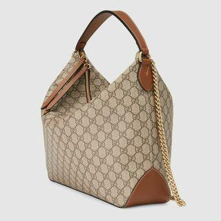 Gucci GG Supreme Monogram Hono Bag Tote 上膊 shoulder 金鏈 手提包 袋 party