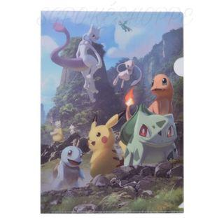 [PO] A4 CLEAR FILE [MEWTWO STRIKES BACK EVOLUTION] - POKEMON CENTER EXCLUSIVE