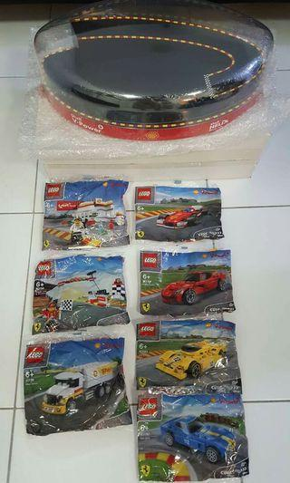 SHELL LEGO ( Complete Set With Case )
