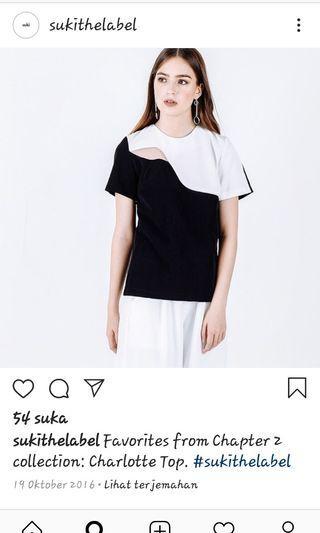 Suki the label white top
