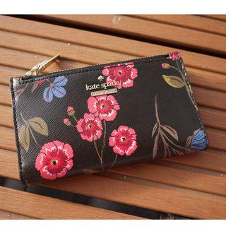 NEW Kate Spade New York Bifold Wallet Floral