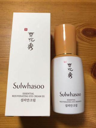 雪花秀 Sulwhasoo Essential Rejuvenating Eye Cream Ex
