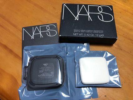 NARS radiant cream compact foundation 粉餅 / 粉底 Light 5 Fiji