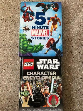 🚚 5 min Marvel Stories and Star Wars Character Encyclopedia