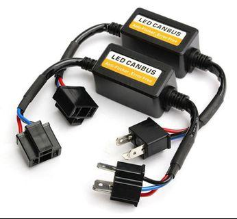 4🔥H4 Error Free Load Resistor LED Decoder