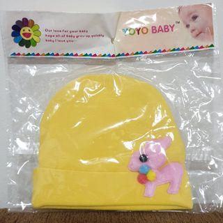 Yoyo Baby™ Newborn Baby Infant Cap / Hat / Beanie (Yellow Color)