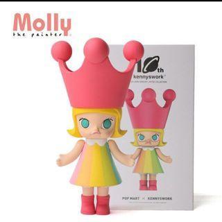 🚚 Molly 10週年公仔