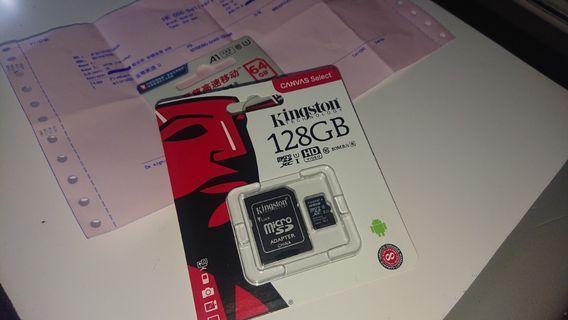 全新記憶卡 Kingston 128G SanDisk 64G