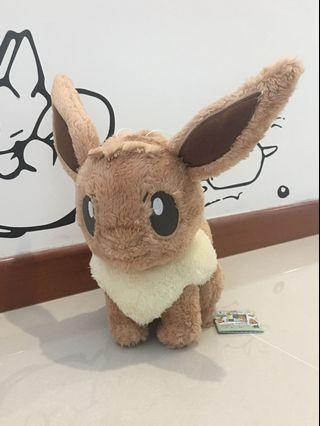 Pokemon Life Fluffy Evee Plush