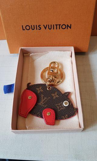 Louis Vuitton Year of Pig 2019 Key ring/charm