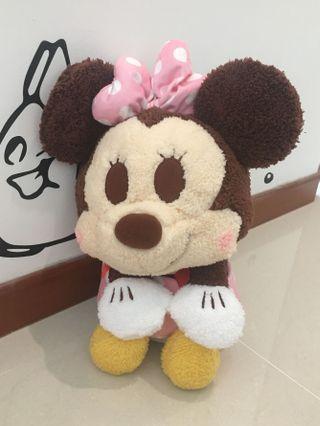 Disney Fuzzy Minnie Mouse Plush