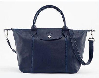 100% Authentic Longchamp Cuir Leather