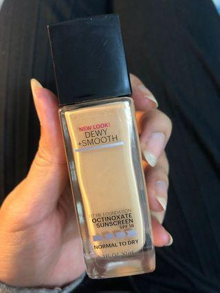 Maybelline Fit Me Foundation Dewy Look