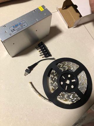 Flexible SMD LED strip light
