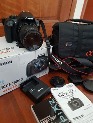 Canon 1300D, Photography, Cameras, DSLR on Carousell