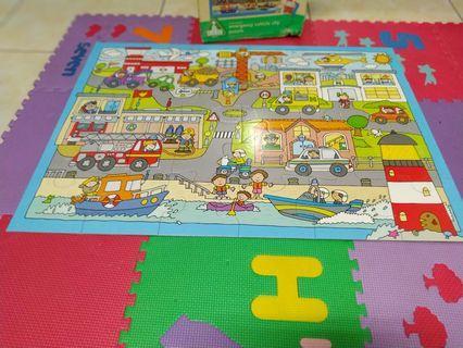 Puzzle elc 24 pcs