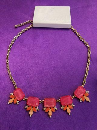 Necklace /accessory /歐美款式/韓系/日系/party/ol/飾物/首飾/office/耳飾/耳環/H&M