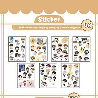 [CLOSED] Abimabima GOT7 fanart stickers💕
