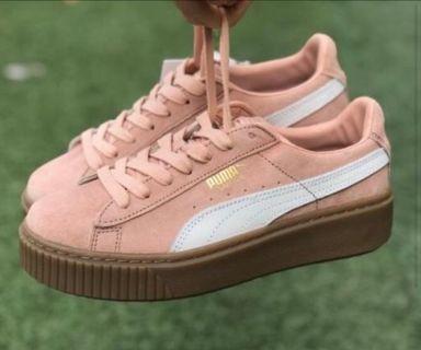 🚚 Puma Suede Platform 蕾哈娜 厚底鞋 增高