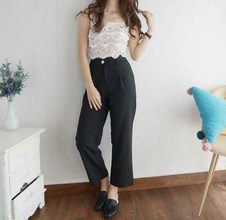 🆕 Black Trousers with belt