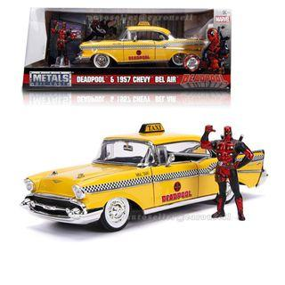 Marvel movie - Deadpool & 1957 Chevy Bel Air Taxi