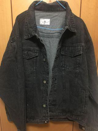 Washed Denim Jacket (black)黑色細水牛仔褸
