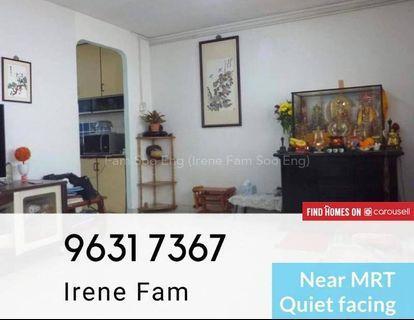 Cheapest 4room near MRT, Clean & nice