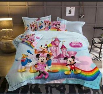 Time Sale Promo !! Comforter set - Mickey family