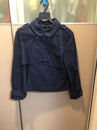 H&M short trench coat