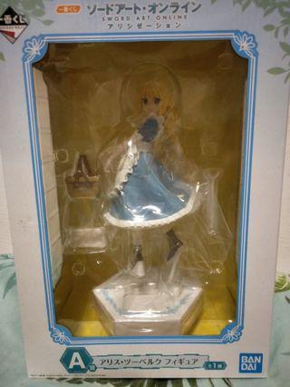 🚚 SAO Alicization Kuji A Prize Alice