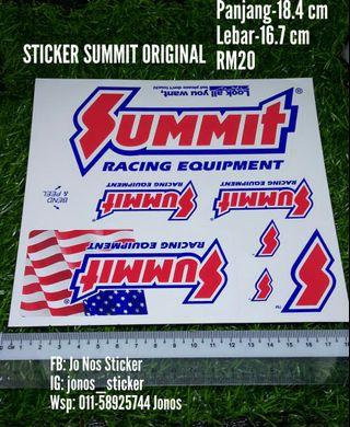 Sticker summit racing original