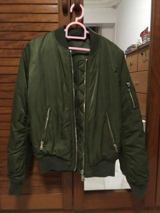 🚚 Topshop army military bomber