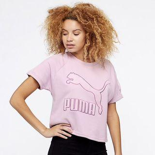 100% Authentic Puma BNWT Women's Downtown Structured Top Wins O