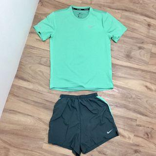 ORI Nike Dri Fit Running T-Shirt & Running Short Pants