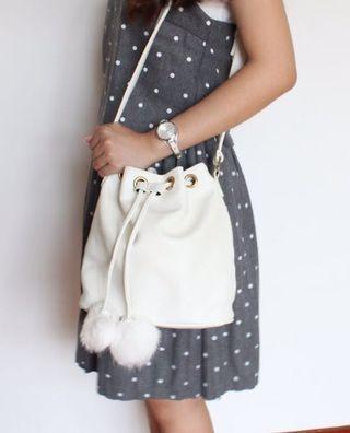 🆕 Leather Bunny Bucket Bag #SSV8