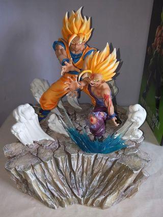 Goku & Gohan Father-Son Kamehameha Resin