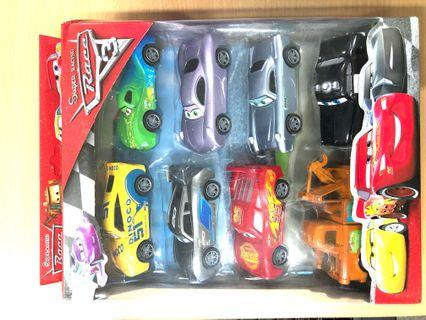 🚚 8-in-1 McQueen Toys Car - Model Super Racing Cars Pull Back Toy