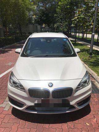 Wedding car rental with driver - BMW 2 series Gran Tourer Luxury