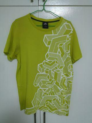 Adidas Lime Green Tee