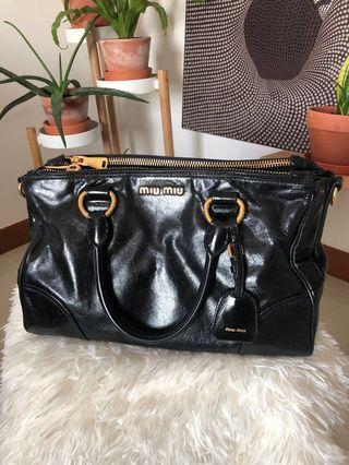9f477753acf4 Price Down❗️Miu Miu Vitello Shine top handle bag