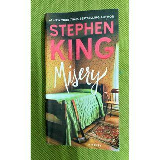 """""""Misery"""" by Stephen King"""
