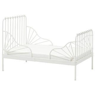 Ikea MINNEN Extensible bed frame BLACK