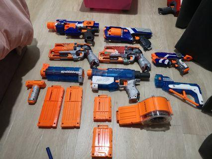 [ UPDATE ] Nerf guns and attachments